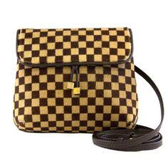 Louis Vuitton Calf Hair & Leather Damier Mini City Bag, Rare #porteromostwanted