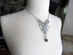 Another unique washer necklace.