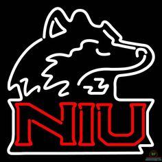 Northern Illinois Huskies Neon Sign NCAA Teams Neon Light