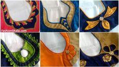 HappyShappy - India's Own Social Commerce Platform Stylish Blouse Back Neck Designs - Kurti Blouse Blouse Back Neck Designs, Patch Work Blouse Designs, Simple Blouse Designs, Stylish Blouse Design, Latest Blouse Designs, Blouse Neck Patterns, Blouse Neck Models, Churidar Neck Designs, Designer Blouse Patterns