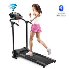 Folding Treadmill, Running Machines, Sports App, Running Workouts, No Equipment Workout, Cardio, Walking, App Control