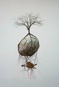 Jorge Mayet – sculpture racine, arbre                                                                                                                                                                                 Plus