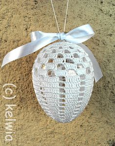 Jajka wielkanocne | Druty, szydełko, igła - robótki Kelwii