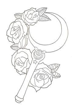 sailor_moon__moon_stick_tattoo_design_by_xxzombieprincexx-d7qalts.jpg (1024×1542)