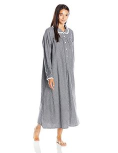 Lanz Women's Classic Cotton Flannel Peter Pan Nightgown, ... https://www.amazon.com/dp/B01GINUKR0/ref=cm_sw_r_pi_dp_x_W-QvybZ9YMADJ