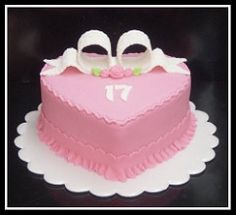 cake pink heart - claudia behrens | by Claudia Behrens ~ Cakes