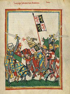 Codex Manesse Johann von Brabant - Codex Manesse - Wikimedia Commons
