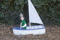 yard sailing, boat Children's and Family Photography Wichita, Kansas