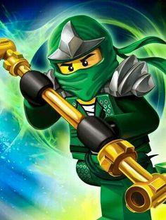 Lloyd, ninja of all elements green/golden ninja