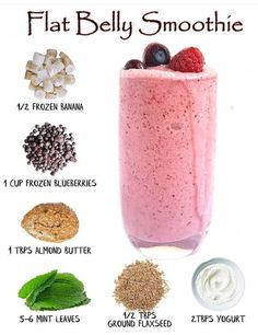 Best Healthy Smoothie Recipe, Healthy Juice Recipes, Fruit Smoothie Recipes, Easy Smoothies, Healthy Detox, Healthy Juices, Smoothie Diet, Weight Loss Smoothies, Healthy Drinks