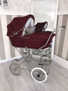 Prams, Baby Strollers, Retro Vintage, Children, High Chairs, Cribs, Basic Colors, Kids Wagon, Puppets