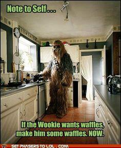 Luv the Wookie