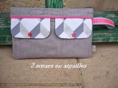 2 sœurs en aiguilles: Les sacs et pochettes à coudre de La Petite Cabane de Mavada