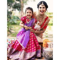 Lehenga Saree Design, Half Saree Lehenga, Lehenga Gown, Traditional Dresses For Kids, Indian Dresses For Kids, Baby Lehenga, Kids Lehenga, Kids Party Wear, Kids Wear