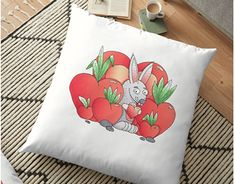 """Check out new work on my @Behance portfolio: """"Happy Valentine's bunny!"""" http://be.net/gallery/61897359/Happy-Valentines-bunny"""