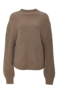 Ribbed Merino Pullover by AZEDE JEAN-PIERRE for Preorder on Moda Operandi