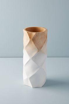 Arlo Wood Vase | Anthropologie
