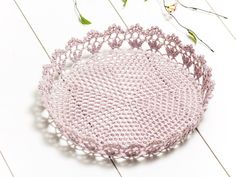 Marion D.30Xh5.5cm cart A.pemb to Crochet
