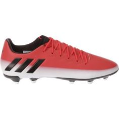 Adidas Men's Messi 16.3 Firm Ground Soccer Cleats (Red/Core Black/Footwear  White, Size 12) - Adult Soccer Shoes at Academy Sports