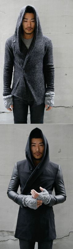 Accessories :: Woolblend Diamond Armwarmer-Gadget 07 - Mens Fashion Clothing For An Attractive Guy Look