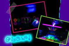 BRIGHT Ideas For Glow Party