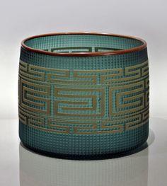 Preston Singletary   Shelf Basket at Schantz Galleries