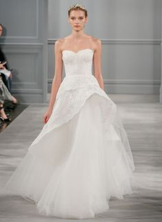 From City Hall to the Altar... Monique Lhuillier Spring 2014   OneWed