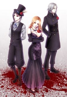 Uta, Itori, and Renji    TG