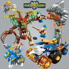 > CLICK IMAGE TO BUY <Enlighten Glory War Educational Building Blocks Toys For Children Gift Castle Knight Heroes Weapon Gun Stone Giant Eagle Treant ~ Clicking on the VISIT button will lead you to find similar beautiful pieces on  AliExpress.com #EducationalToys
