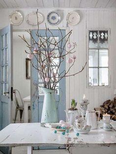 easter decorations - La casa shabby a Pasqua