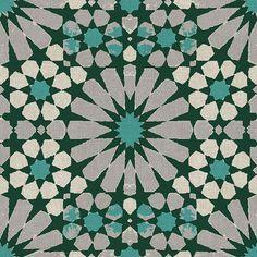 4669 V Servilleta decorada Geometricos