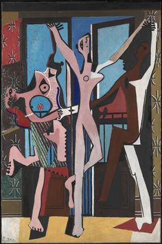 Pablo Picasso - The Three Dancers, 1925, oil on canvas