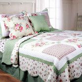 Found it at Wayfair - Spring Patch Mini Quilt Set