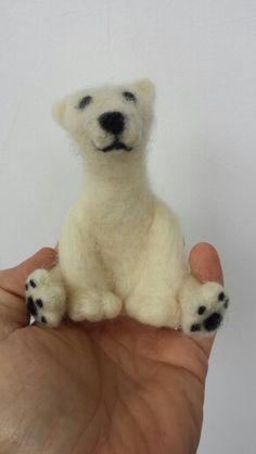 Urso de lã.