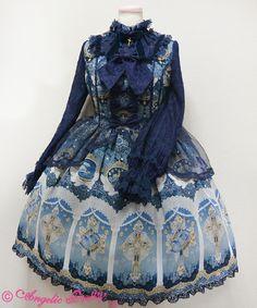 Angelic Pretty - Celestial Dress OP in navy (or sax?)