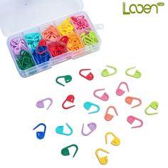 Полезный помощник в вязании - набор пластиковых маркеров для вязания. Купить такой набор можно здесь - http://ali.pub/1lsrs8