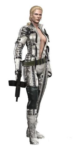 A hardened woman, but loyal to the end. MGS3's the Boss is one of the sickest characters ever created. This woman invented CQC and kicks Snake's butt all up and down that game. She is one tough cookie and does not go down easily. And she also has a horse -- which is a plus.
