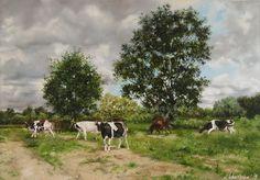 Best of Etsy - Gallery Paintings Art Cow painting - Gallery paintings art - original art.