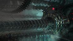 'Machine Room' by Josh Kao