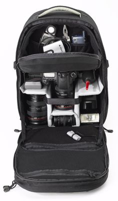 Camera BackPack for All Your dSLR and All Its Accessories