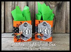 Stampin Up Witches' Night Treat Box