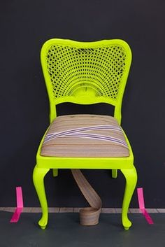 neon chair