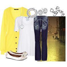rainy yellow