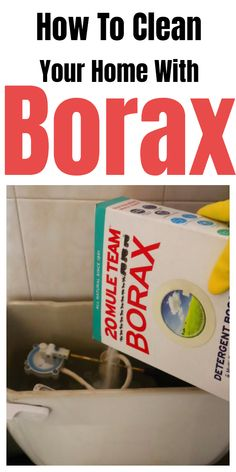 Tips and tricks for cleaning your home with Borax. Tips and tricks for cleaning your home with Borax. Borax Cleaning, Diy Home Cleaning, Household Cleaning Tips, Deep Cleaning Tips, Cleaning Recipes, House Cleaning Tips, Natural Cleaning Products, Cleaning Solutions, Cleaning Hacks