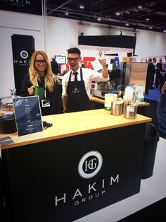 Serving coffee to the masses at #100optical