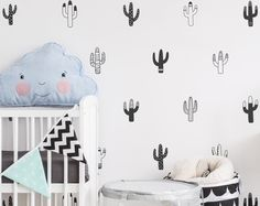Dramatically convert the look of your living space with these geometric mountain/triangle wall decals, giving your walls the look of a custom paint job without any of the hassle! ALL of these decals were created from my unique, original designs and arent available from any other seller, ensuring your product is one of a kind.  ***ITEM DETAILS***  • Each mountain decal ranges from 3 to 4 high  • There are 10 different styles of mountains included (see 2nd preview image)  • See 3rd preview...