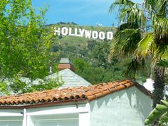 Earlier this year, my wife and I were back in Los Angeles. On our way to a walk around Lake Hollywood (the Hollywood Reserv. Hollywood Sign, Woman Smile, Spanish Style, Shed, Rooms, Explore, Signs, Places, Outdoor Decor