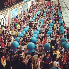 Crazy Harbour City on weekend - @berry212 | Webstagram