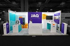 Custom Trade show Booth for JAQ in CES , Las Vegas
