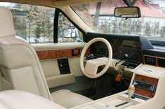 Interior: Aston Martin Lagonda from 1982